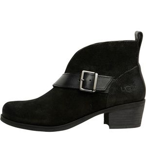 UGG Wright Belted Ankle Boots NEW NIB 7
